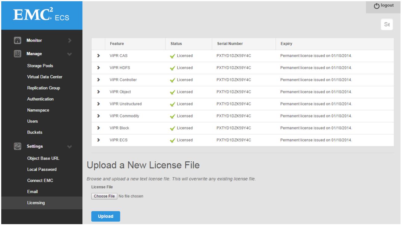 ECS Administrative Web UI — ECS-CommunityEdition 3 2 2 0 documentation